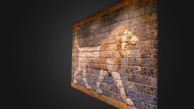 Lion rugissant de Babylone - British Museum 3D Model