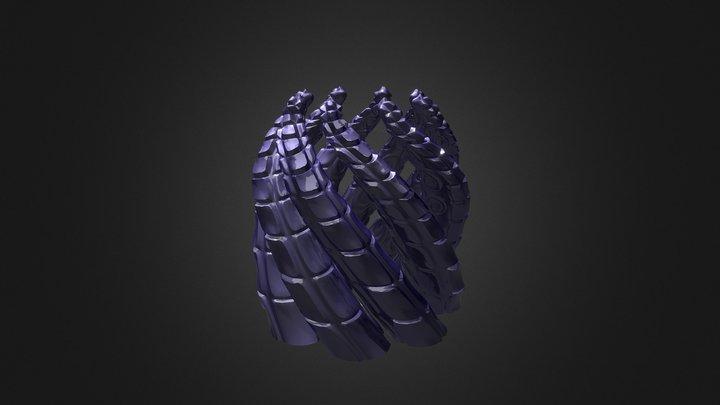 Tentacles Holder 3D Model