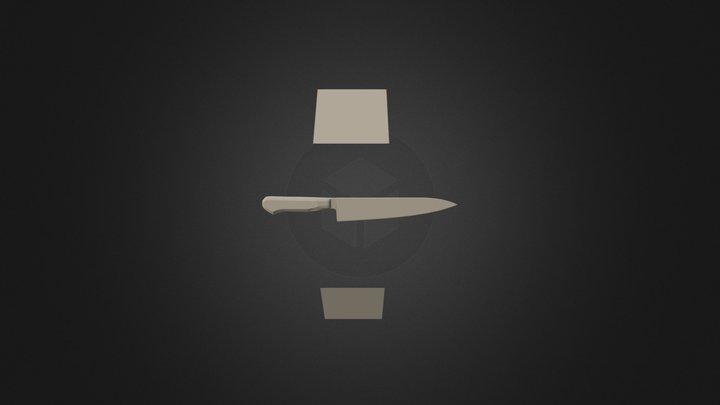 Knife 05 3D Model