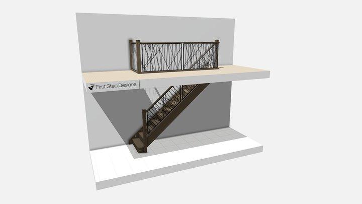Howarth Preliminary Staircase Design 3D Model