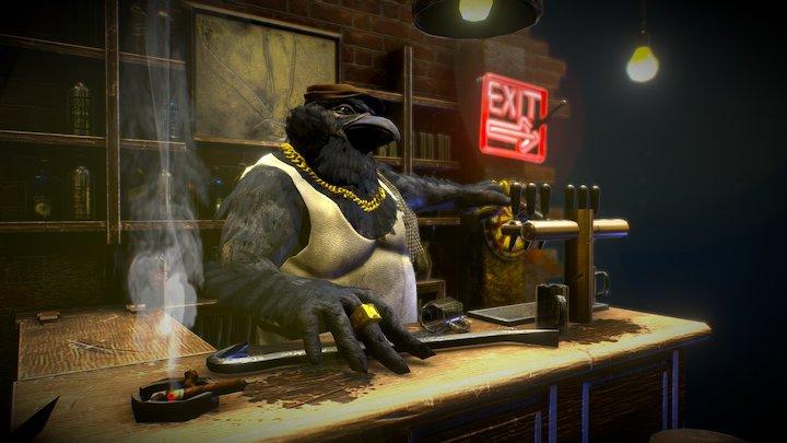 Crow-bar 3D Model