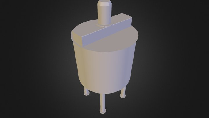 Yeast 500L 3D Model