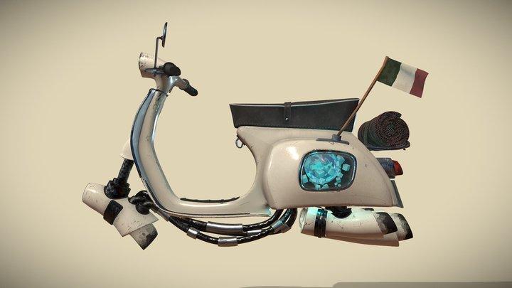 Vespa Jet 3D Model