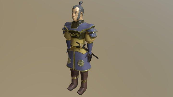 Eastern Warlord 3D Model