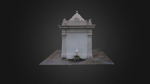 Fontana monumentale, Nughedu S. Nicolò (SS) 3D Model