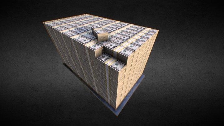 Pack Money 3D Model