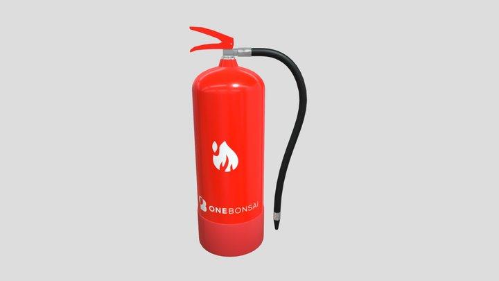 Ob Fire Extinguisher 3D Model