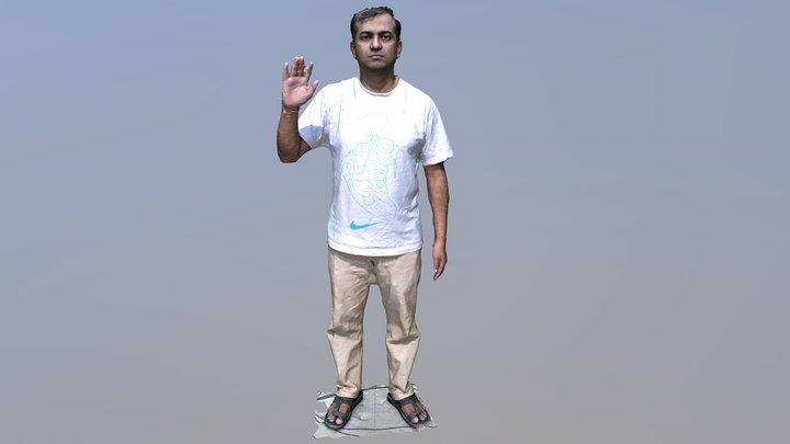 Nagaraj Full Body 3D Scan 3D Model
