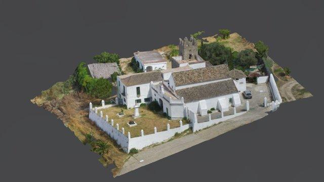 Ermita de los Santos Mártires 3D Model