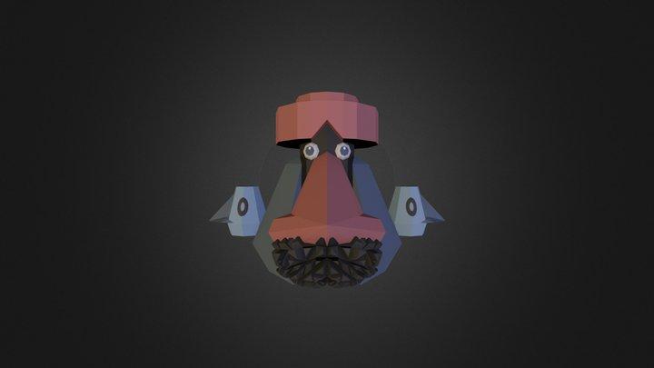 Probopass (Pixelmon) 3D Model