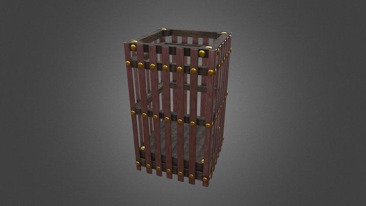 Desk bin 3D Model