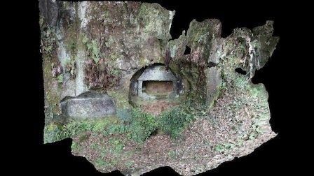 石貫ナギノ横穴12号墓 3D Model