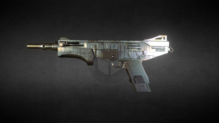 Illusion (MAG Weapon Skin) 3D Model