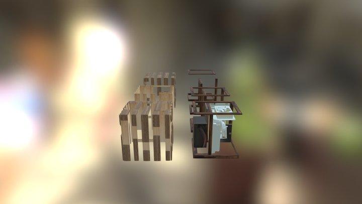 Obudowa Mini ITX All 3D Model