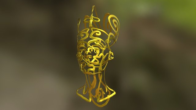 Nefertitijewel 3D Model