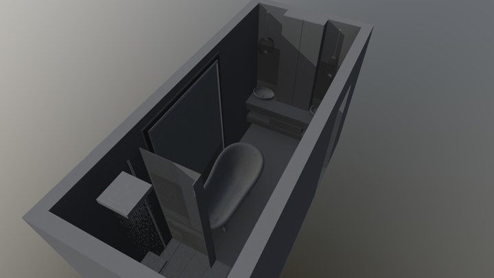 baño 3D Model