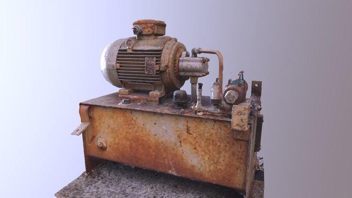 Rusted Generator 3D Model
