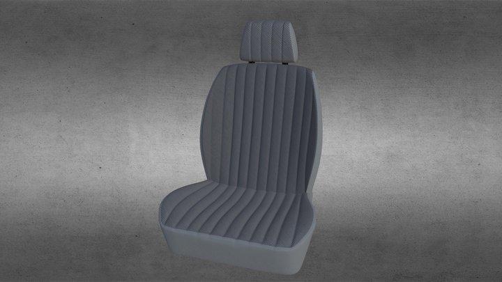 Bucket Seat 3D Model