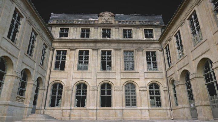 Cour intérieure 3D Model