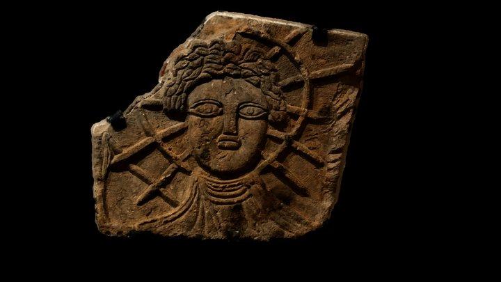 Relief of Sol from Corbridge 3D Model