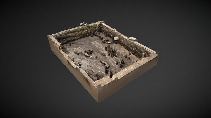 Middel Age excavation 3D Model
