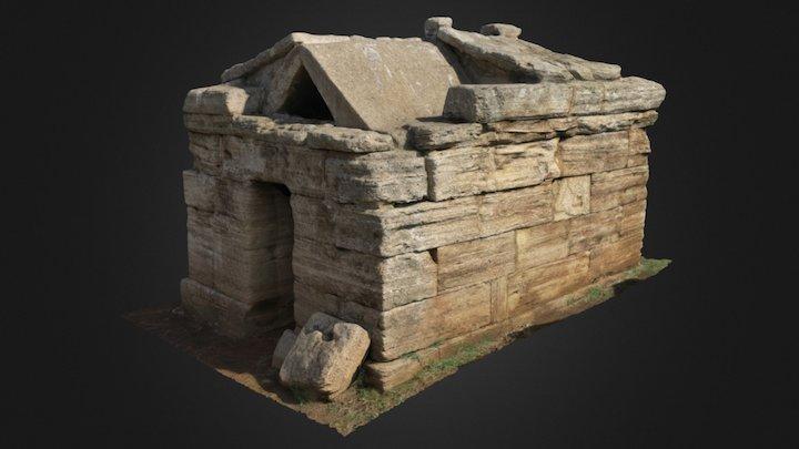 Tomba a edicola Necropoli San Cerbone Populonia 3D Model