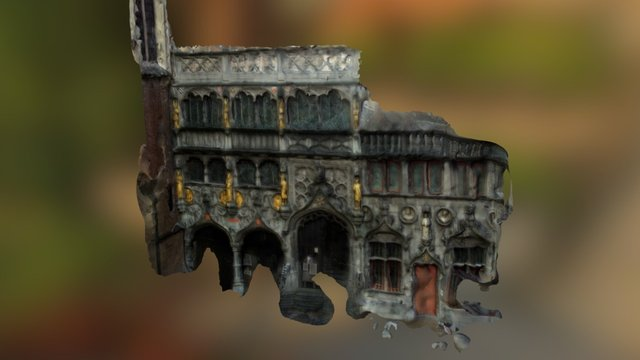 Basilica of the Holy Blood 3D Model