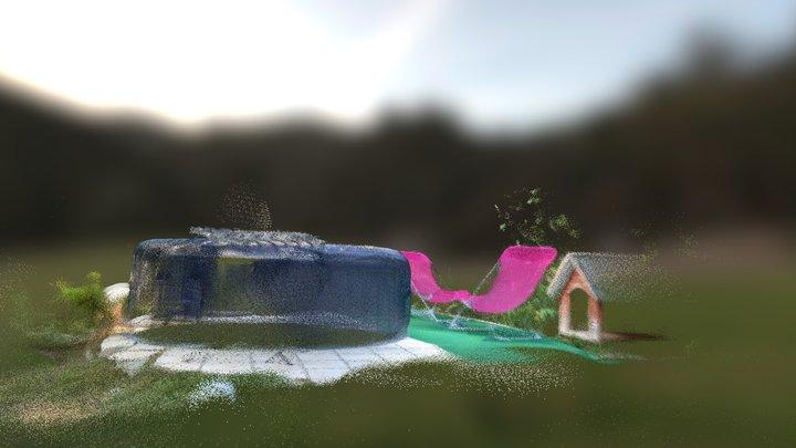 Spa 3D Model