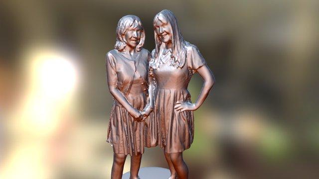 Two Ladies 3D Model