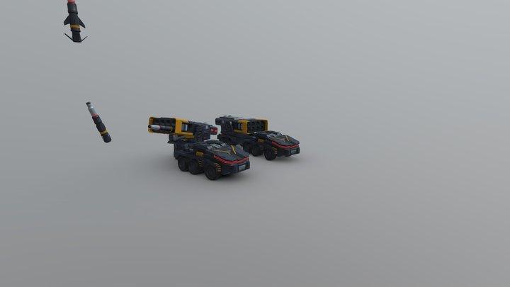 DP4 H Work 6 Truck 3D Model
