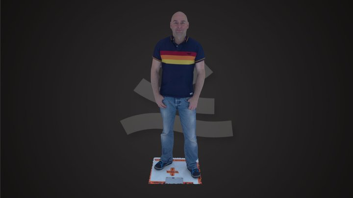 Raspberry Pi full body scan 3D Model