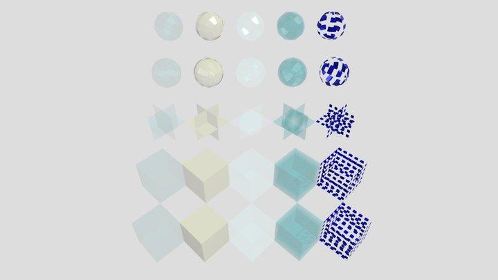 Tipos De Cristales - 20200216 3D Model