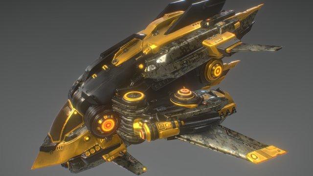 Ship_A3 3D Model