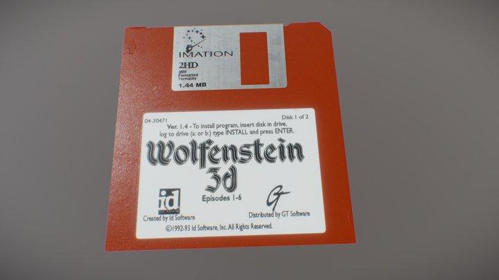 Diskette 3.5 3D Model