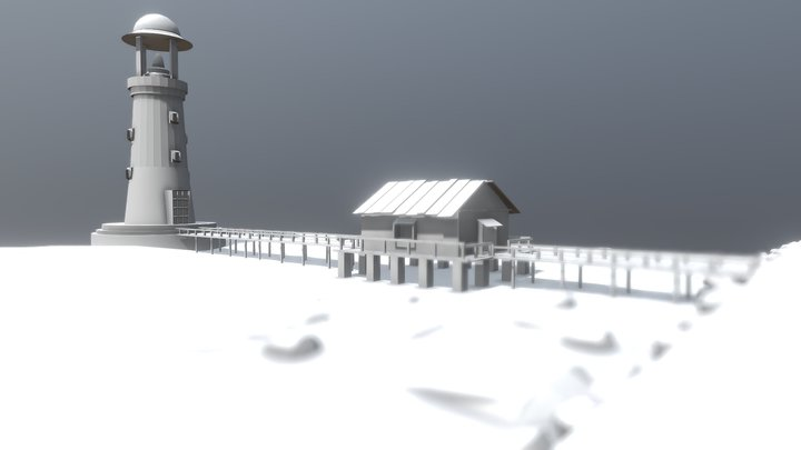 Light house For Lighthouse Modeling Challenge 3D Model