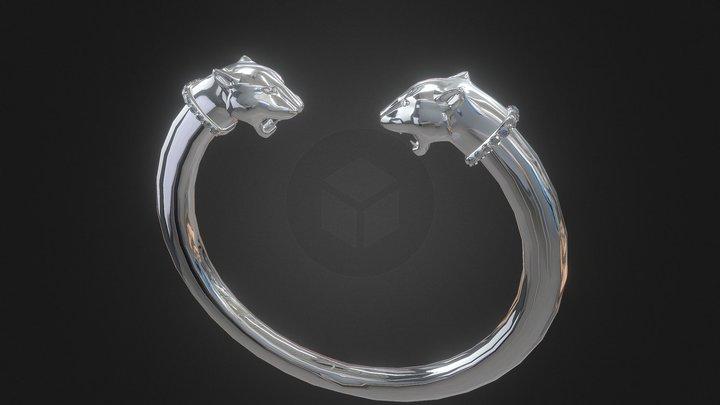Lion Bangel 3D Model