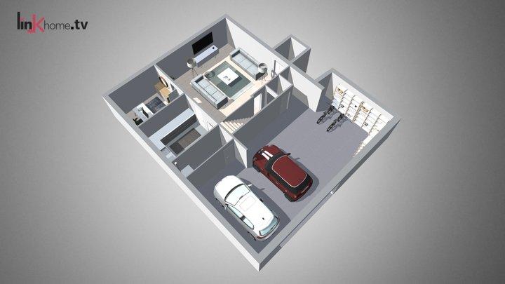 Maqueta Virtual Estática 3D Model