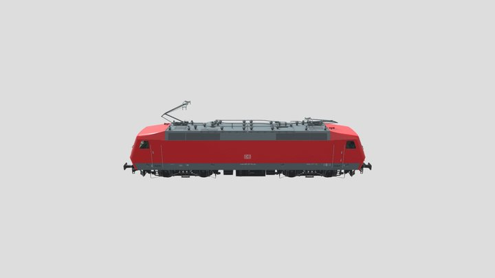 DB Class 120 3D Model