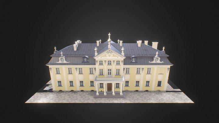 Reproduction of Metropolitan Palace 3D Model