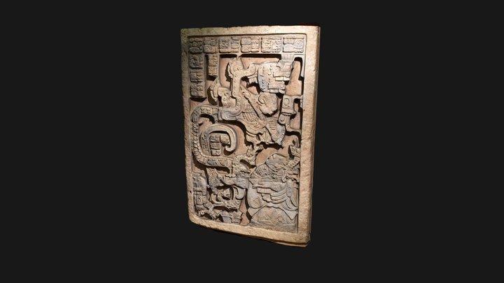 Yaxchilan Lintel 25 3D Model