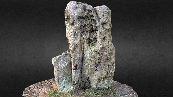 Le menhir de Velaine-sur-Sambre 3D Model