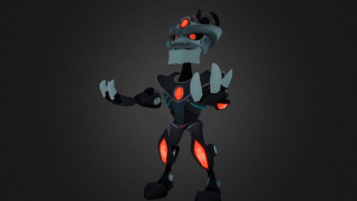 Dr Nefarious 3D Model