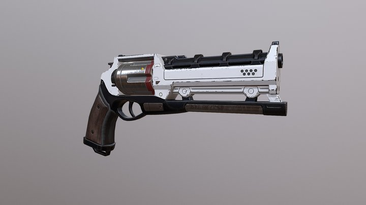 Revolver from Destiny 2 3D Model