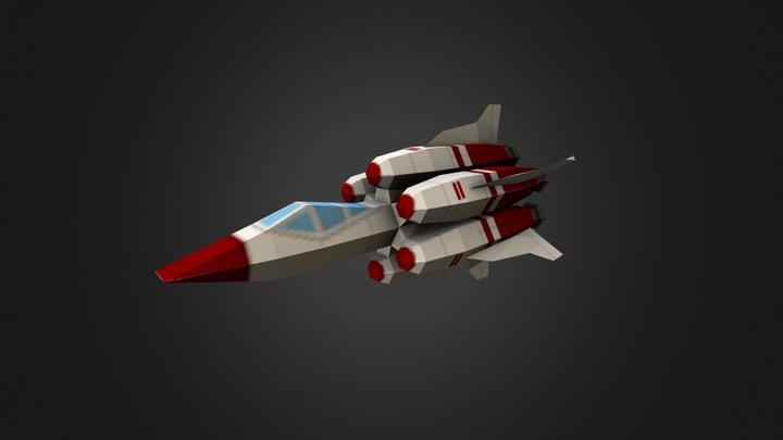 Spaceship01 3D Model