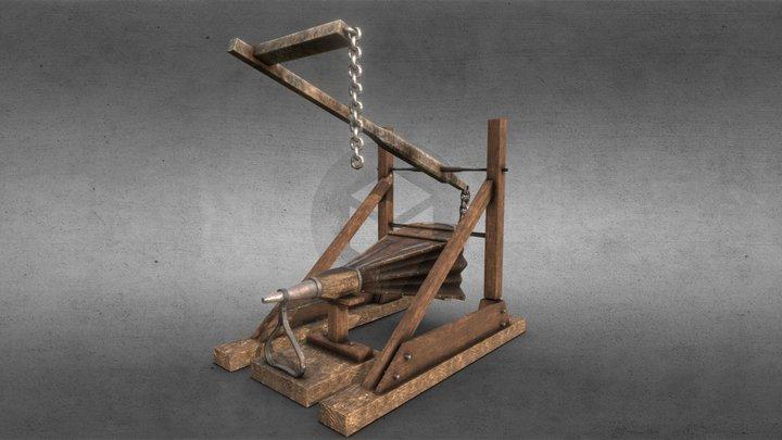 Medieval Bellow 3D Model