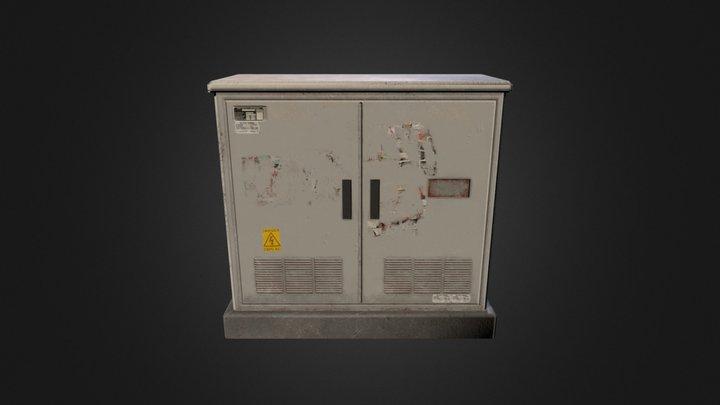Utilities Box 3D Model