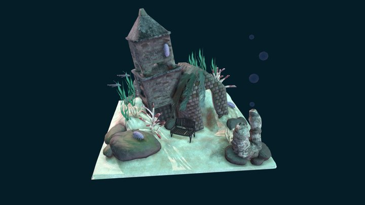 AS1_Teeming Atlantis 'A New Home' 3D Model