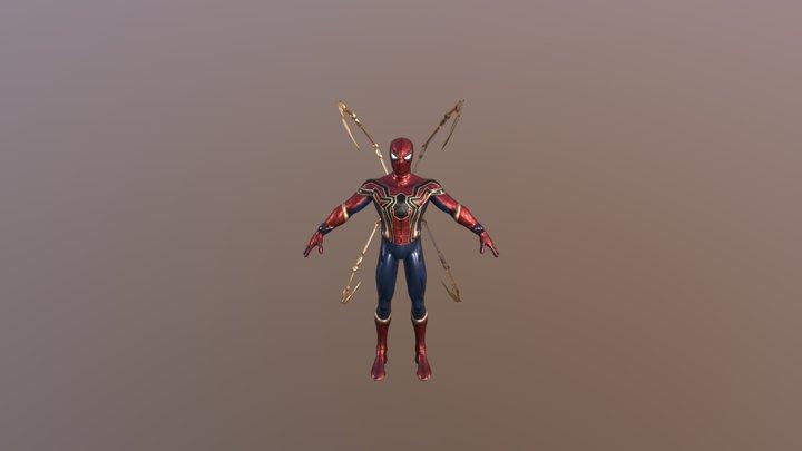 Iron-Spider_Blender 3D Model