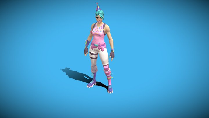 Fortnite Birthday Ramirez 3D Model