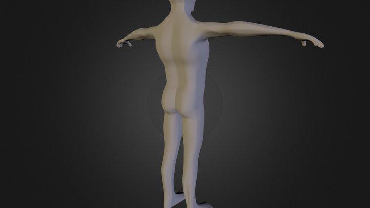 Base Mesh Draft 3D Model